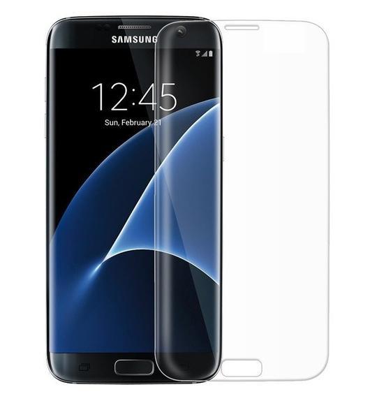 Samsung S7 Edge Tempered Glass Screen Protector UV Glue Nano Optics 3D Curved 9H
