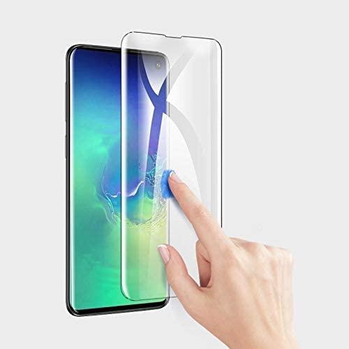 Samsung S10 Plus Tempered Glass UV Glue Nano Optics 3D Curved 9H Screen Protector