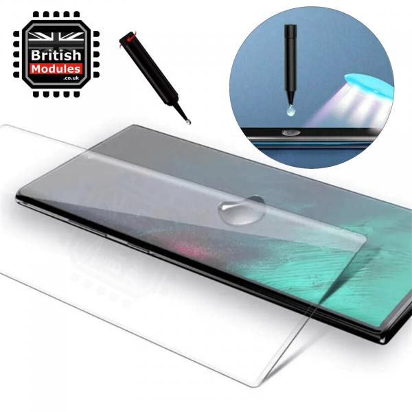 Samsung S10 Tempered Glass UV Glue Nano Optics 3D Curved 9H Screen Protector
