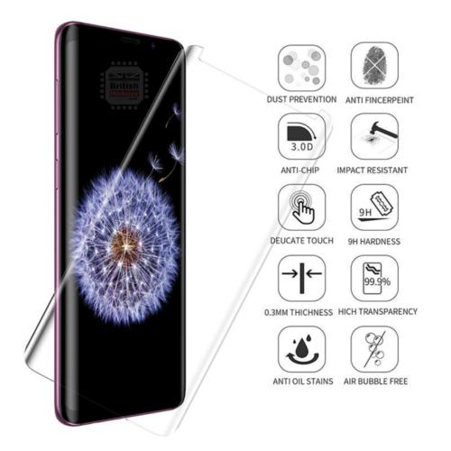 Samsung S9 Tempered Glass UV Glue Nano Optics 3D Curved 9H Screen Protector