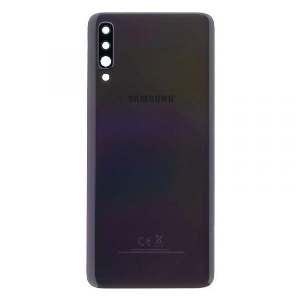 Samsung A70 BLACK BACK COVER